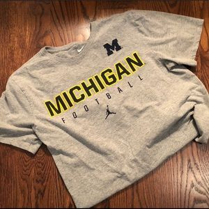 Nike Michigan Football T-shirt